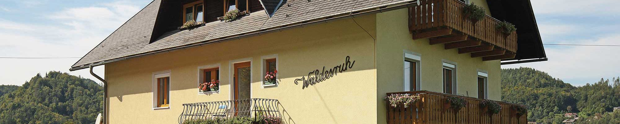 Appartmenthaus Waldesruh